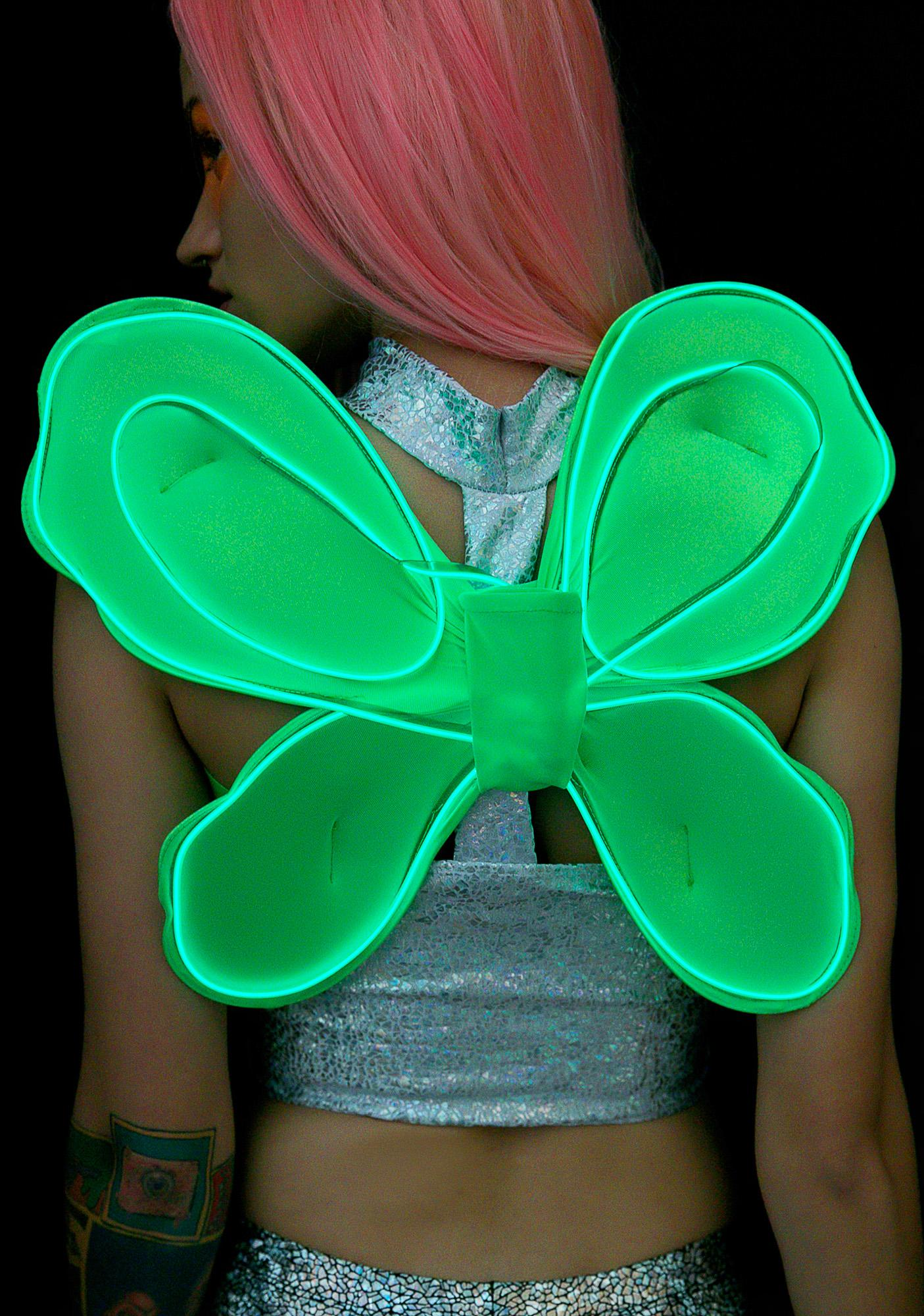 Electro Wings Forest Fairy Light-Up Wings