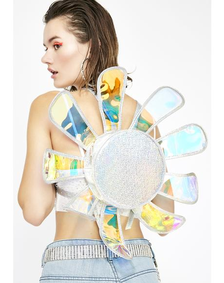 Chrome Fairy Ecstasy Daisy Backpack