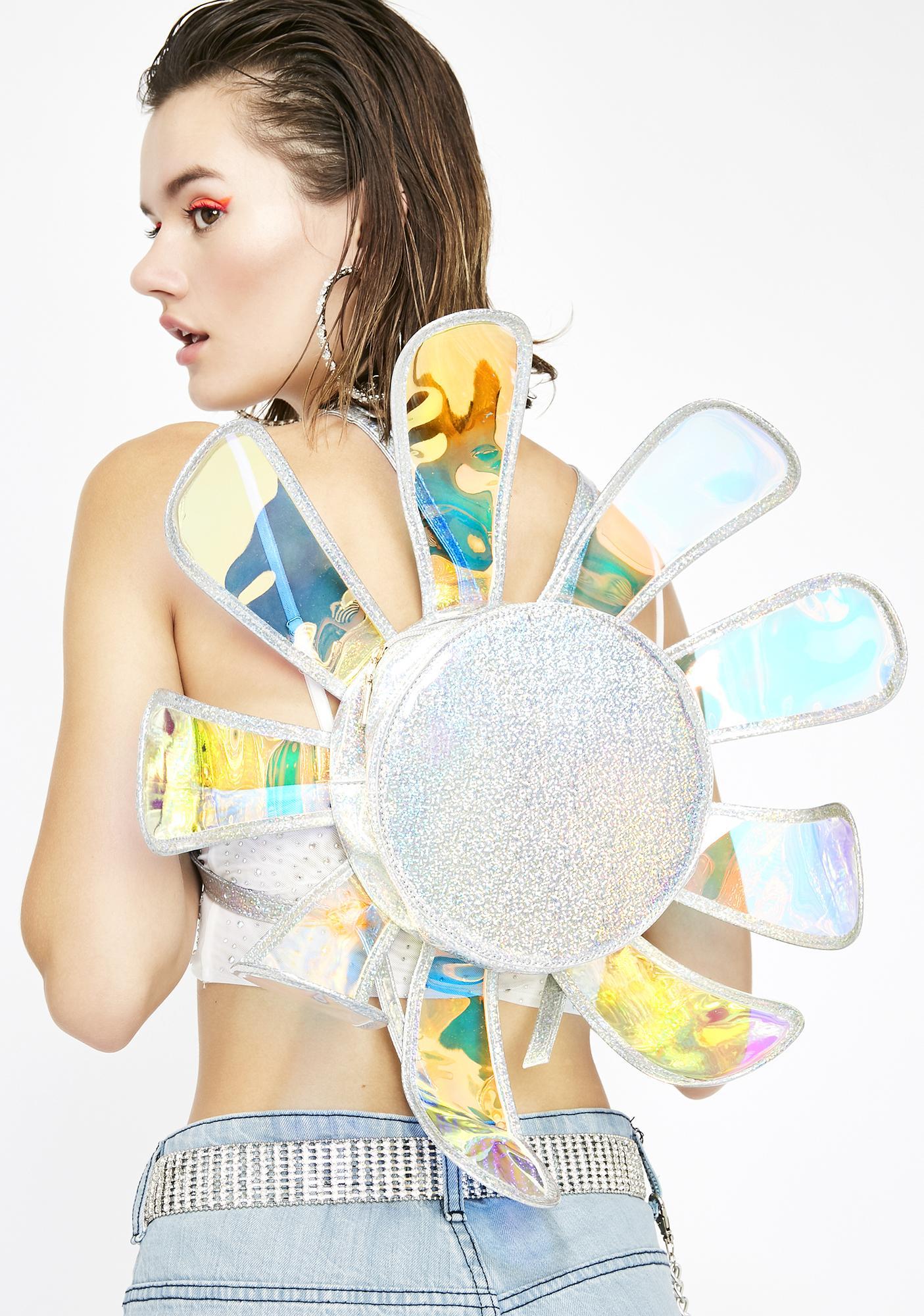 Chrome Fairy Ecstasy Daisy Backpack