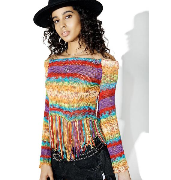 Love And Light The Label Gypsy Top