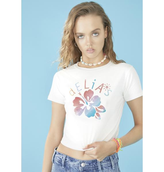 dELiA*s by Dolls Kill Locals Only Baby Tee
