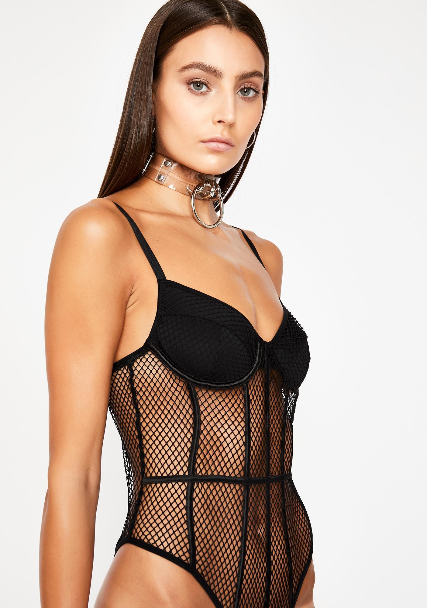 Loving Crime Fishnet Bodysuit