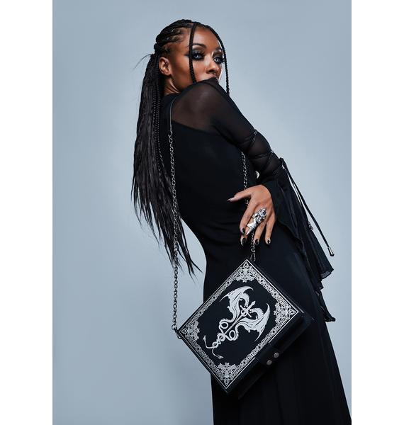 Widow Chronicles Of Night Crossbody Bag