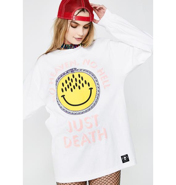 Flying Coffin Just Death Long Sleeve Tee