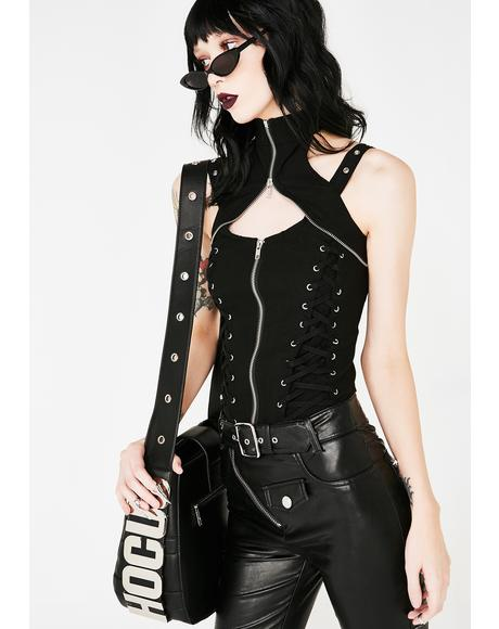 Doom Doll Corset Top