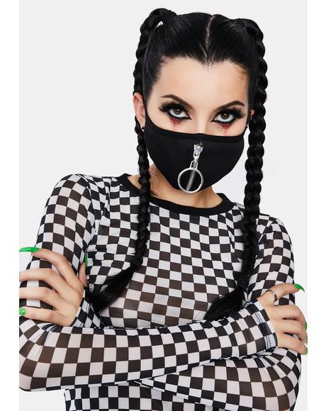 Zip It O-Ring Face Mask