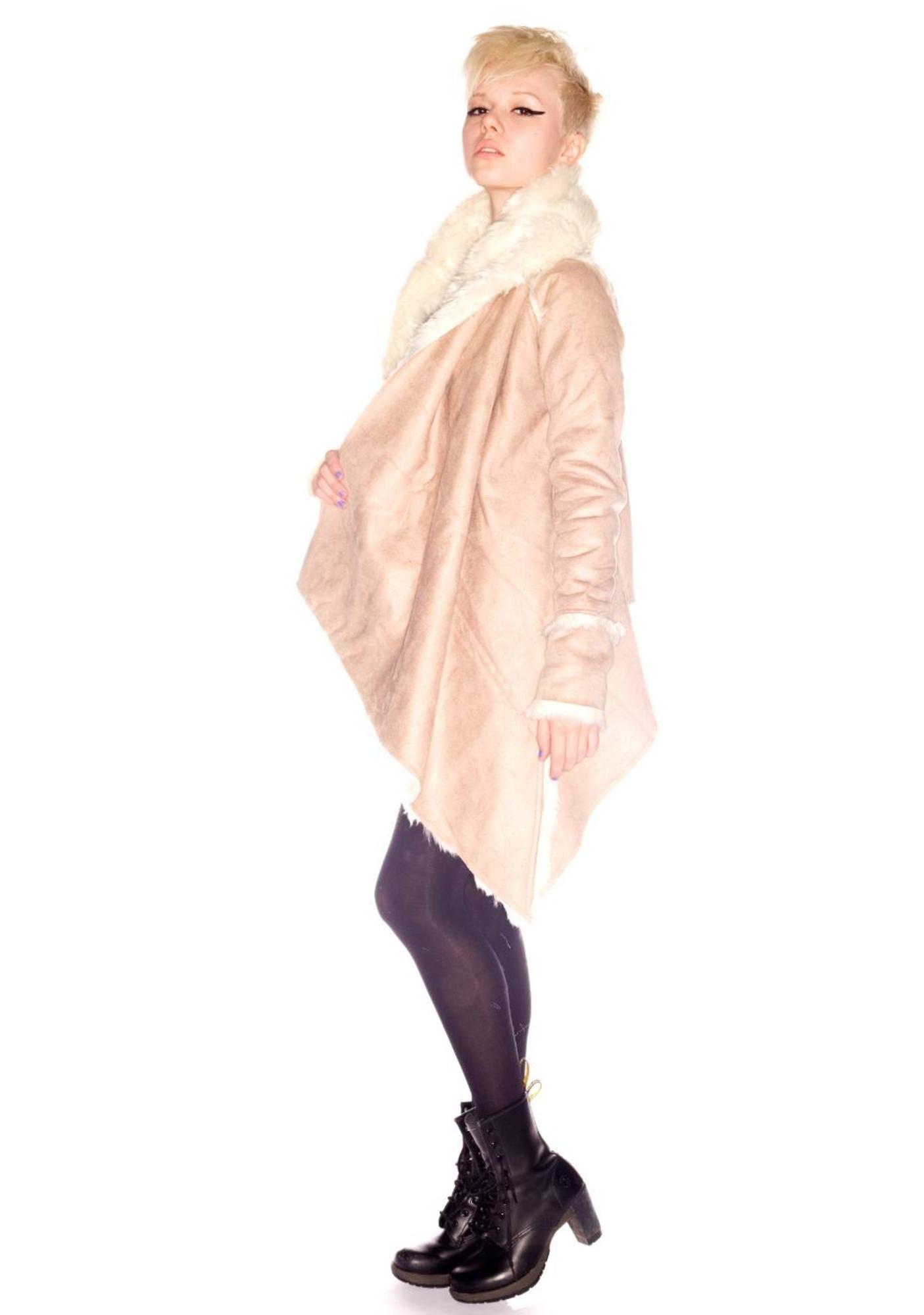 UNIF Abbey Shearling Jacket