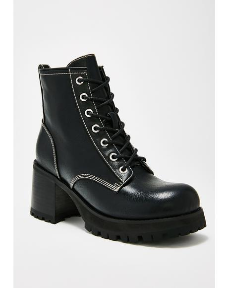 Anti Matter Platform Boots