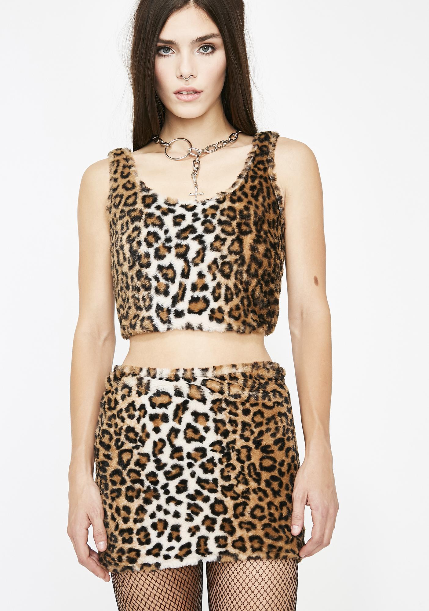 She Beast Leopard Set
