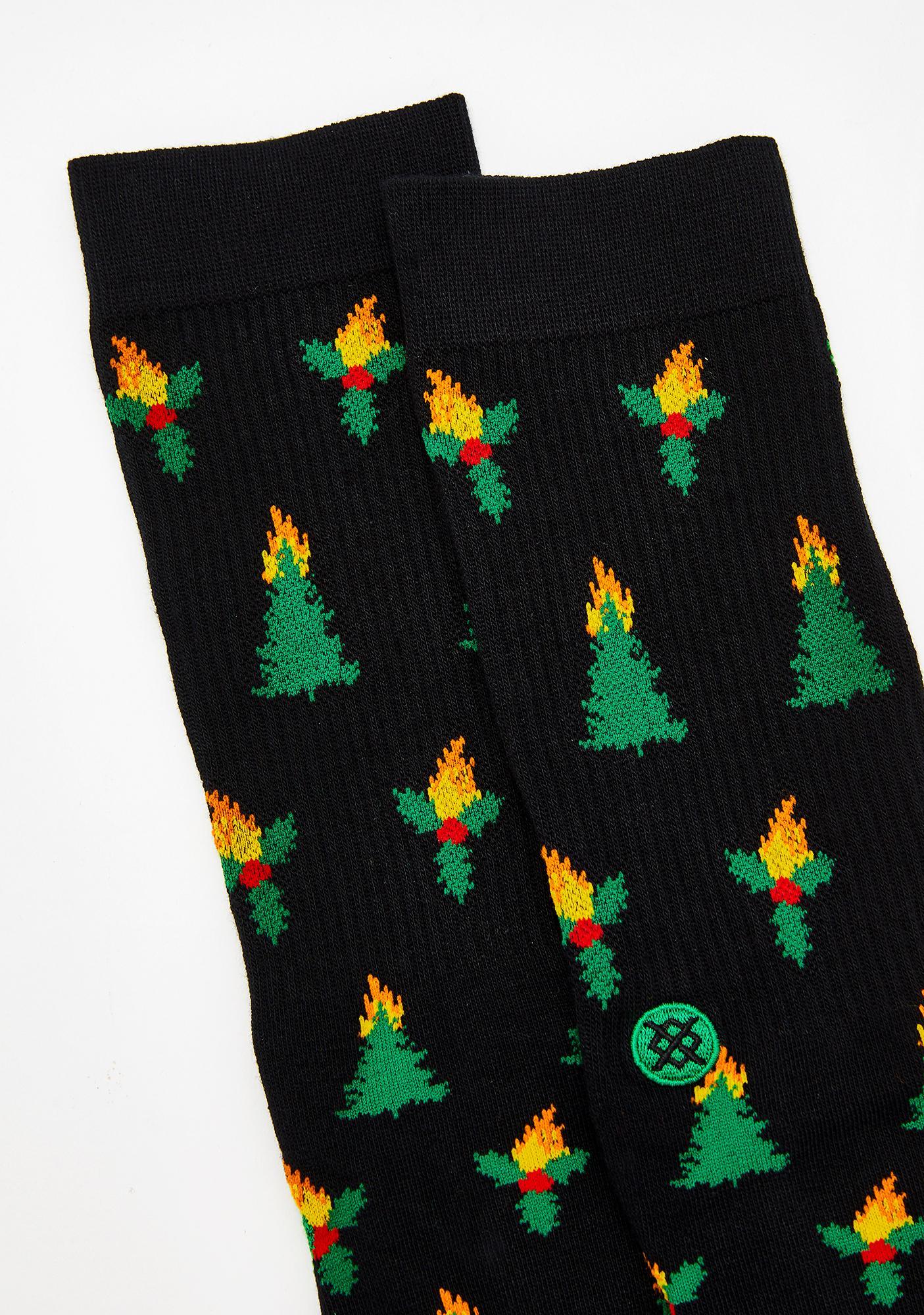 Stance Holiblaze Crew Socks