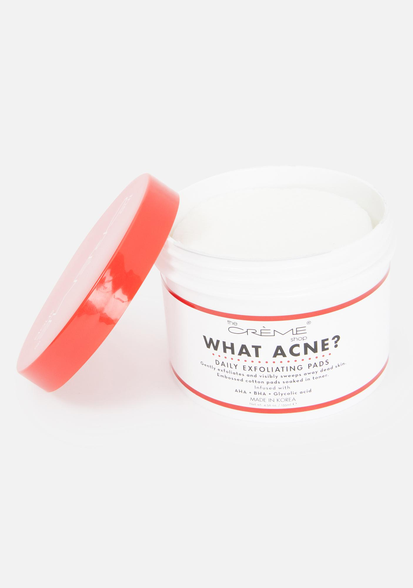 The Crème Shop What Acne? Daily Exfoliating Pads