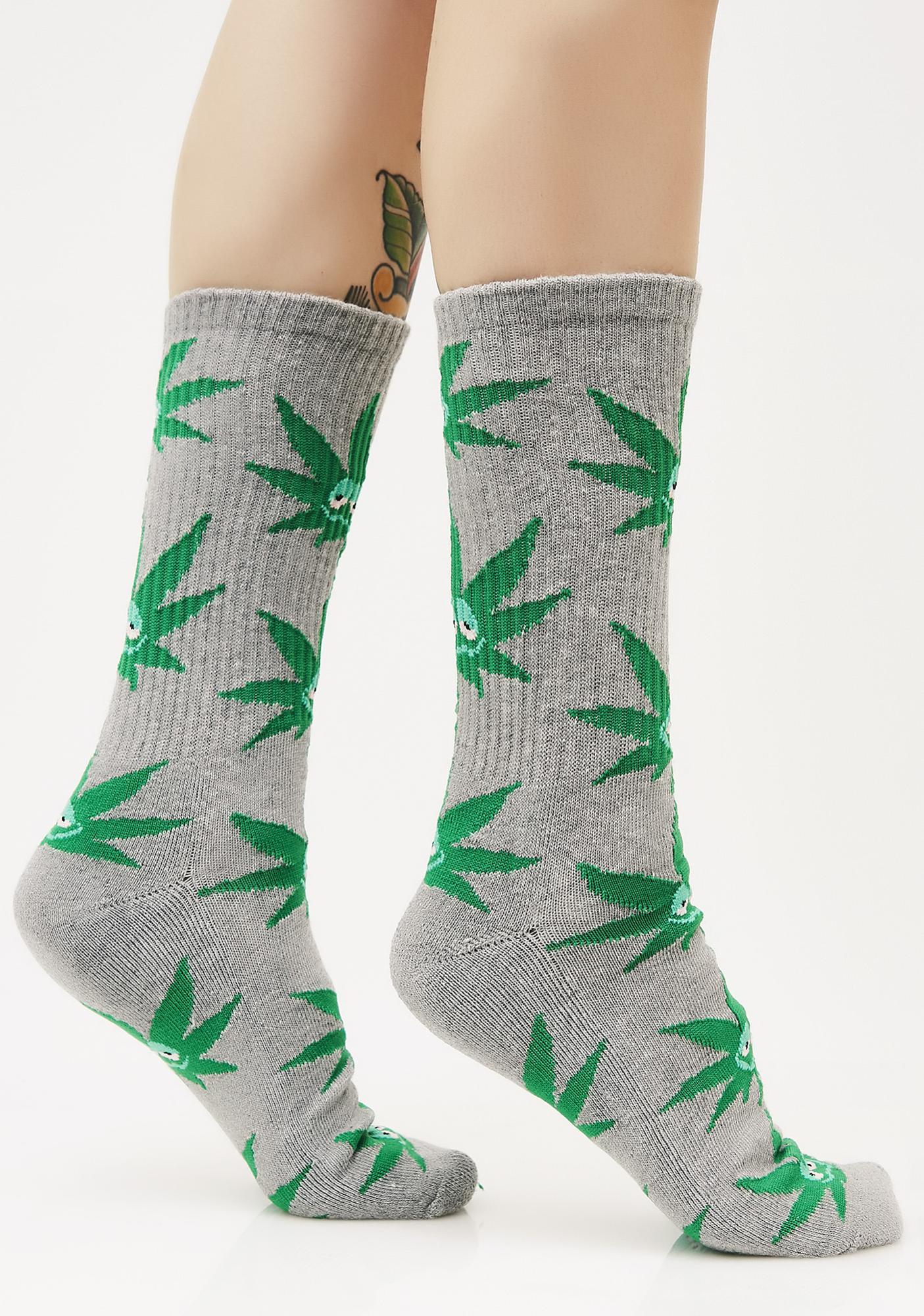 HUF Green Buddy Crew Socks