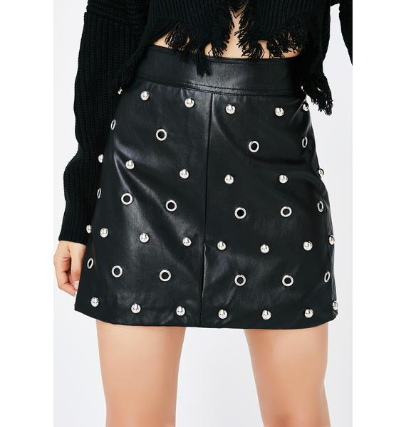 Mean Machine Mini Skirt