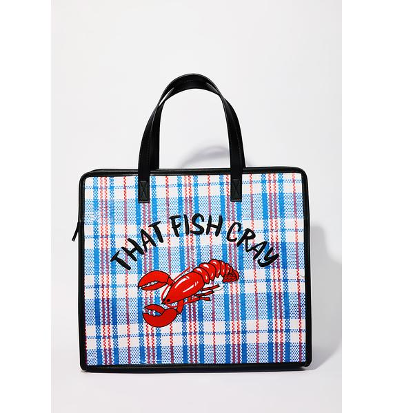 Skinnydip That Fish Cray Tote
