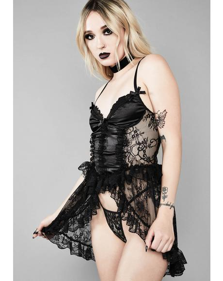 Devil's Plaything Lingerie Set