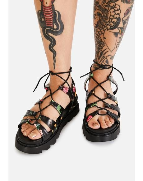 Posy Parade Gladiator Sandals