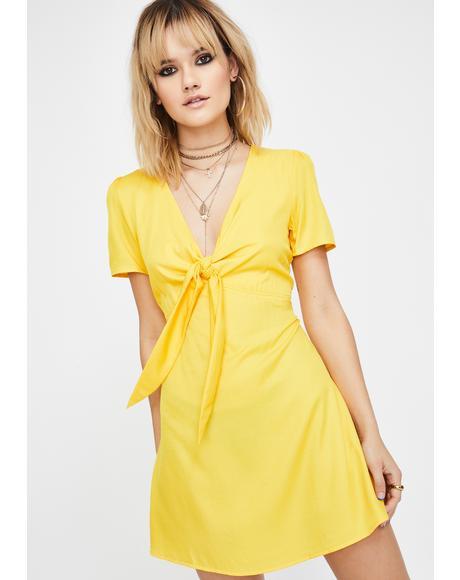 Sunny Delilah Daisy Mini Dress