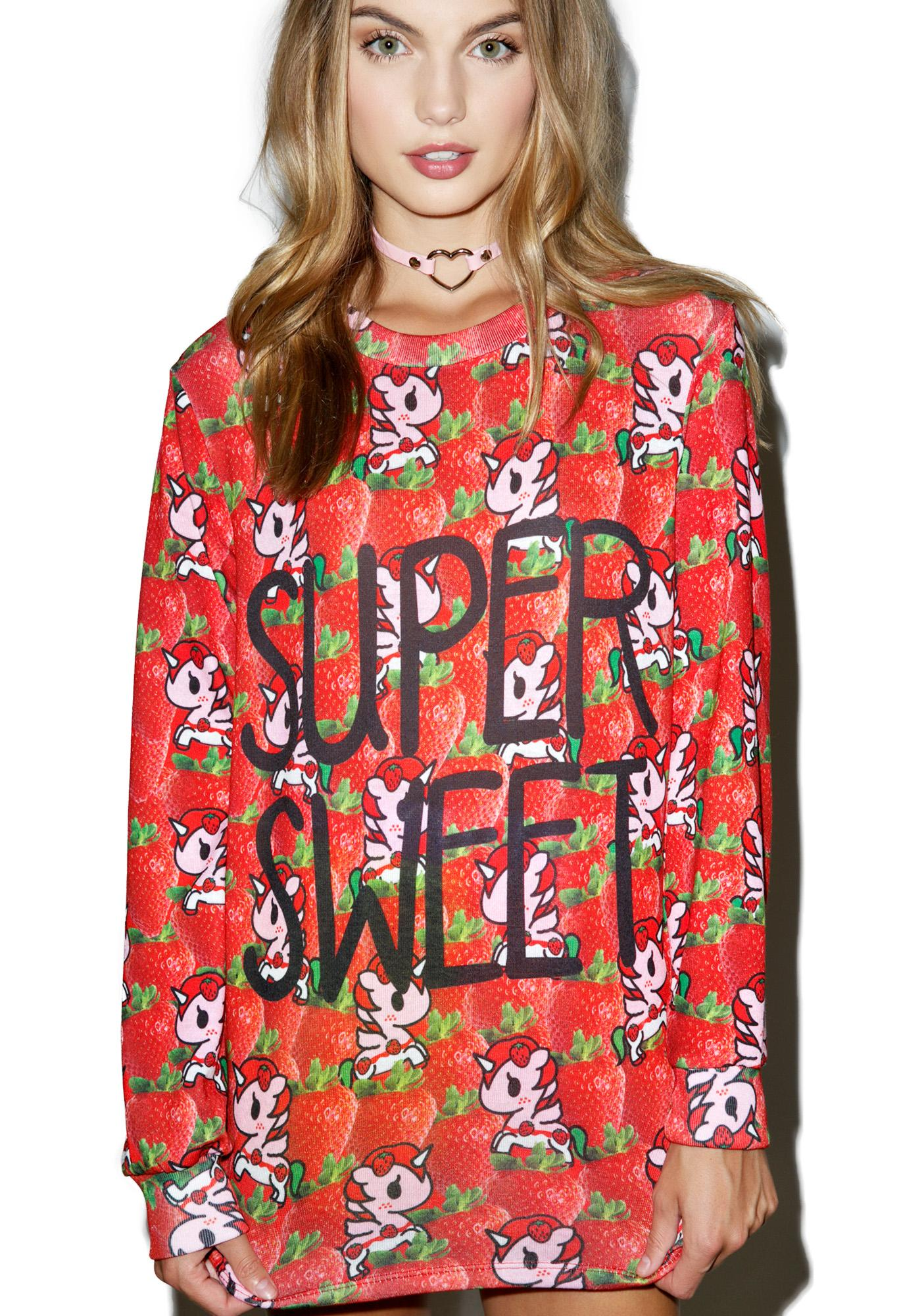 Tokidoki Super Sweet Long Sleeve Tee