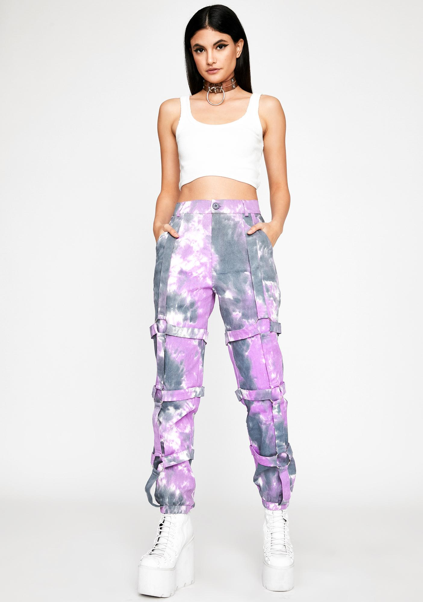 Grape Hellbound Honey Cargo Pants