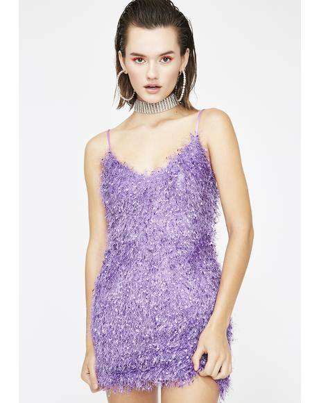 Crush A Lot Fuzzy Dress