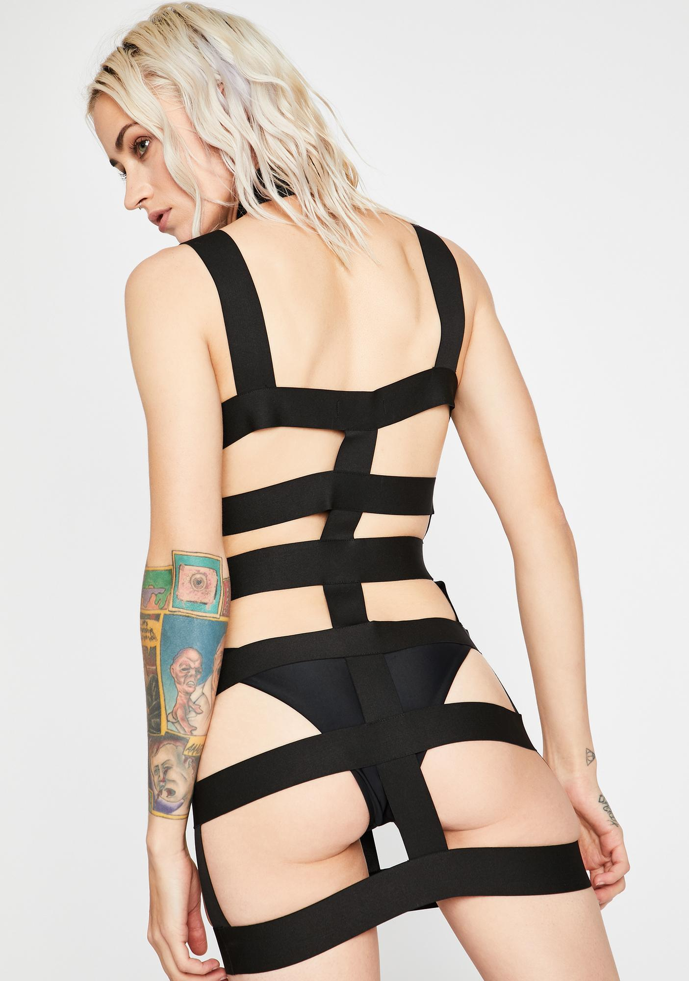 Freakish Fatality Harness Dress