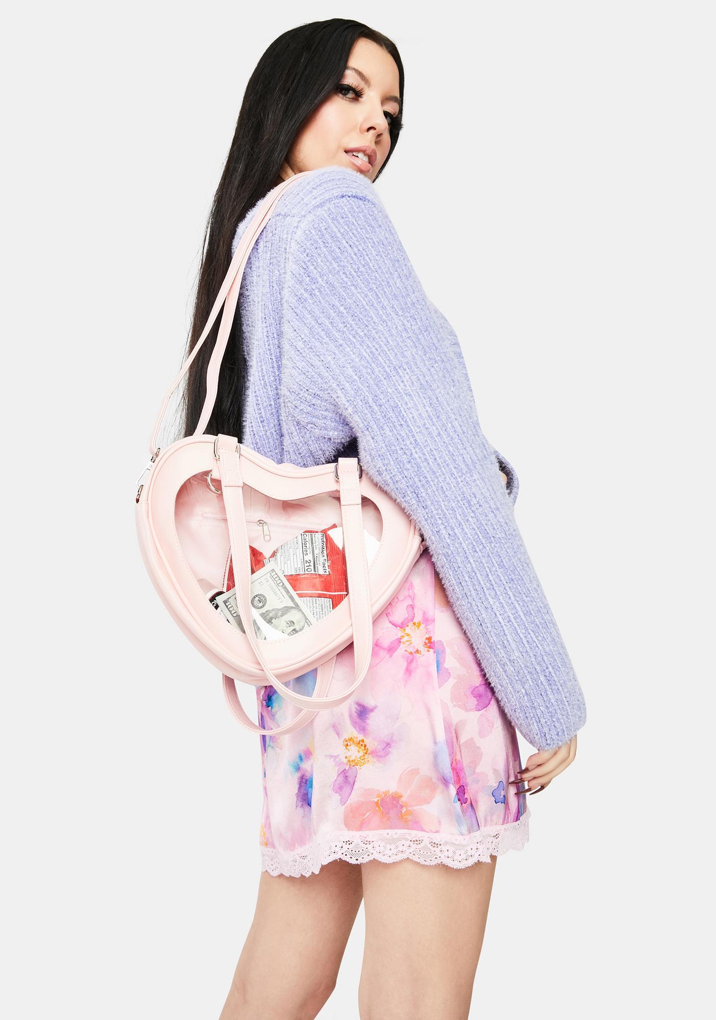 Blush Eternally Yours Heart Shoulder Bag