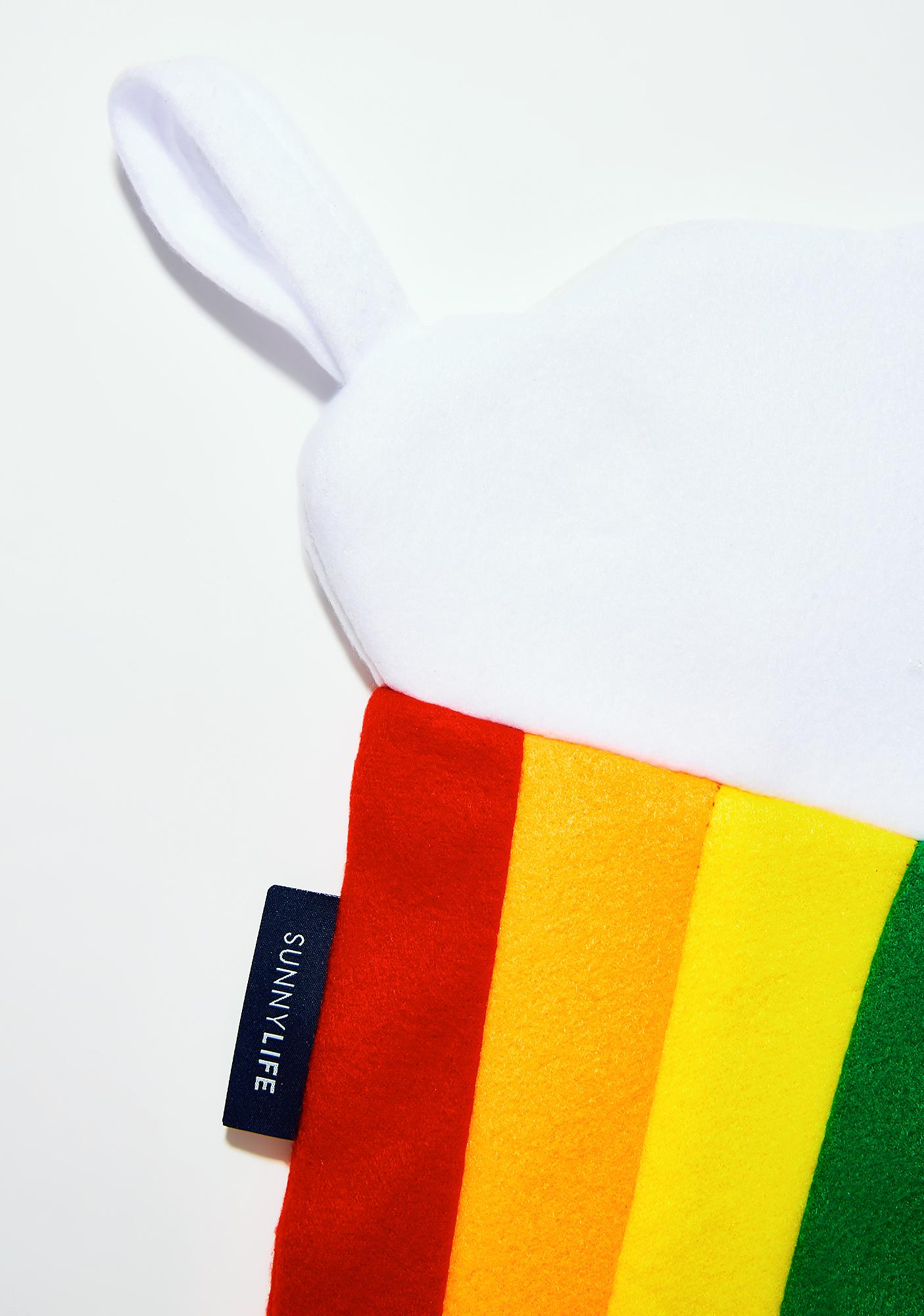 Rainbow Festive Stocking