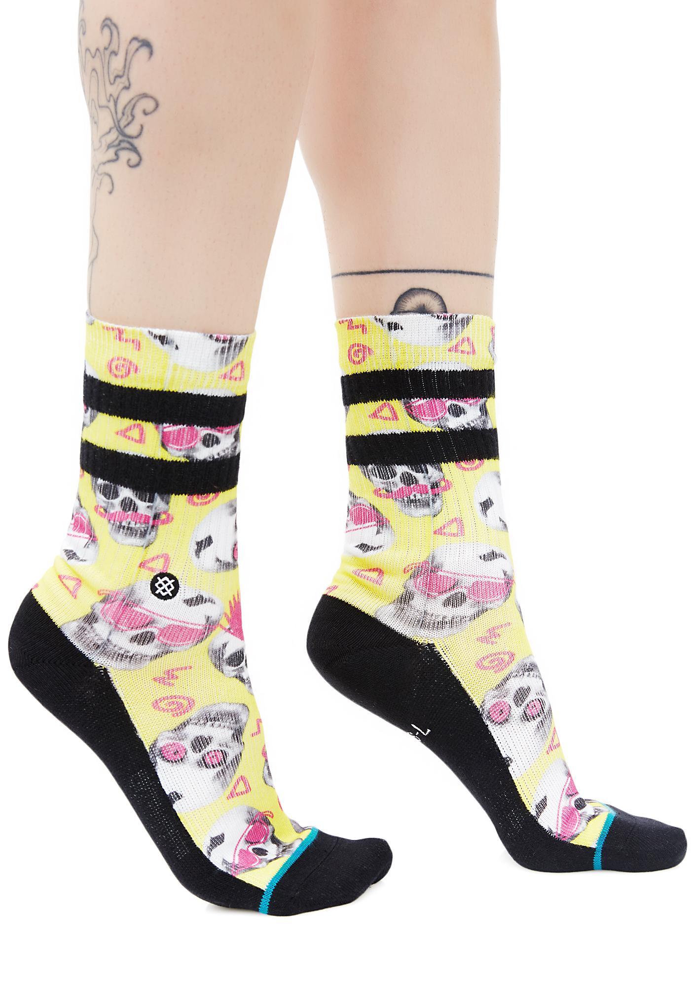 Stance Skeletron Socks