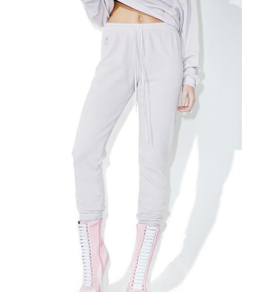 Wildfox Couture Lilac Dawn Fame Joggers