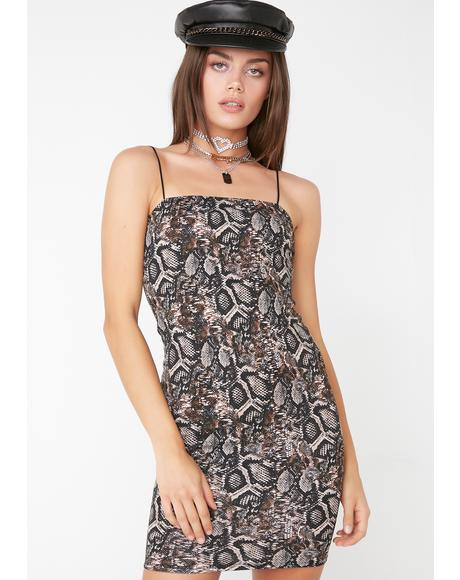 Wild Side Bodycon Dress
