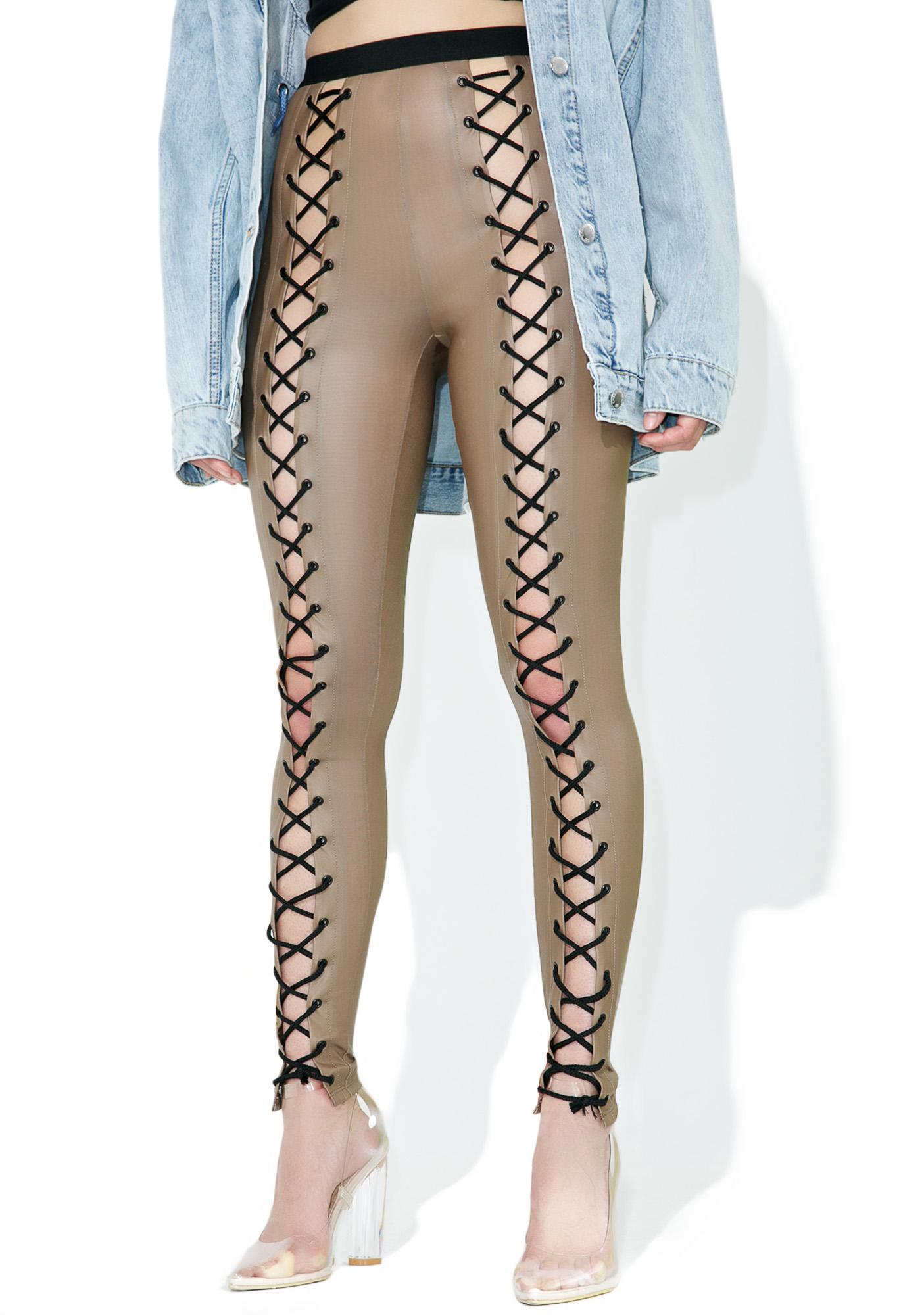 Current Mood Nude Nancy Corset Leggings