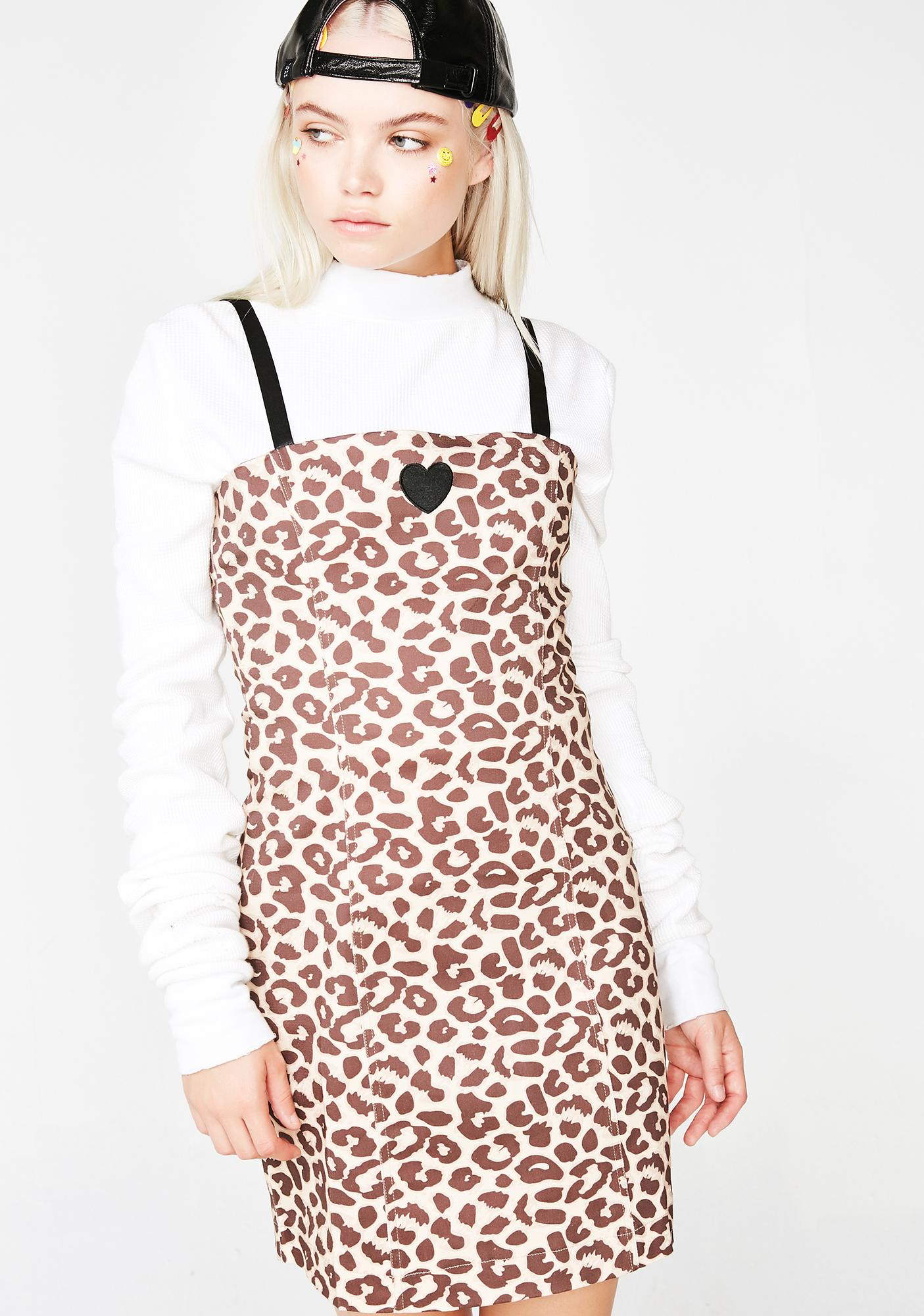 d873b549f1 Leopard Heart Dress