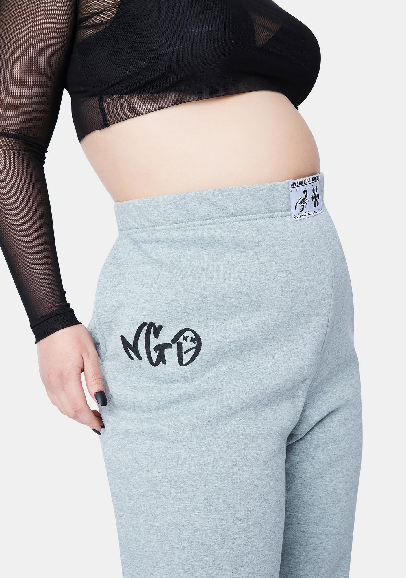NEW GIRL ORDER Curve Sage Joggers
