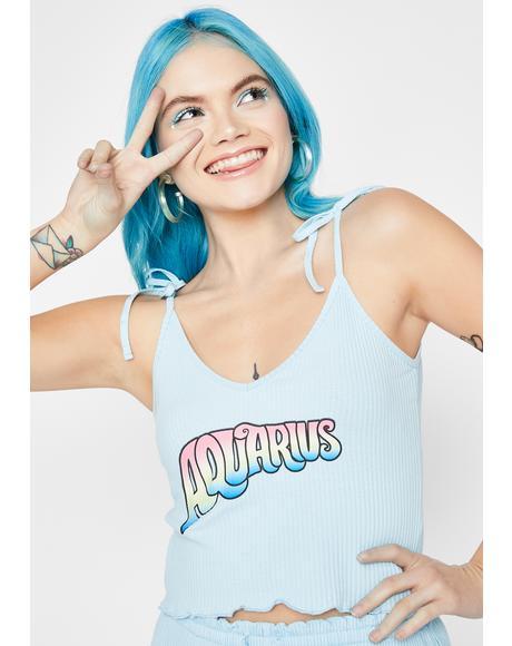 Aquarius AF Pajama Top