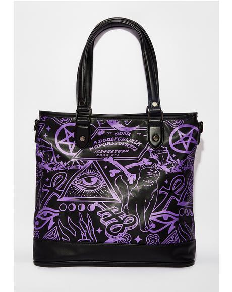 Miss Morbid Tote Handbag
