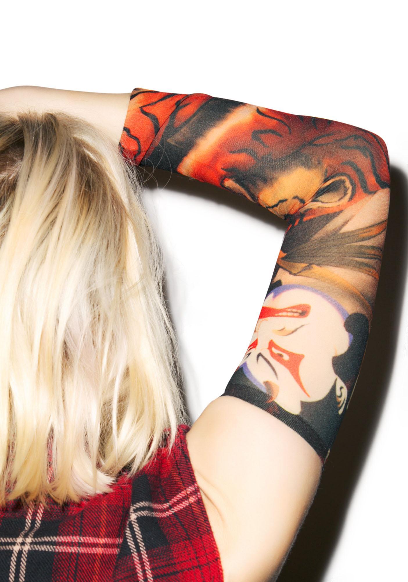 Oni Samurai Tattoo Sleeves
