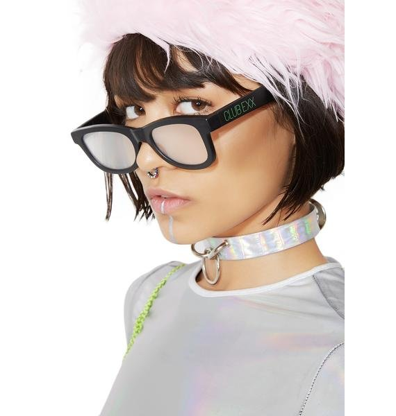 Club Exx Diffraction Glasses