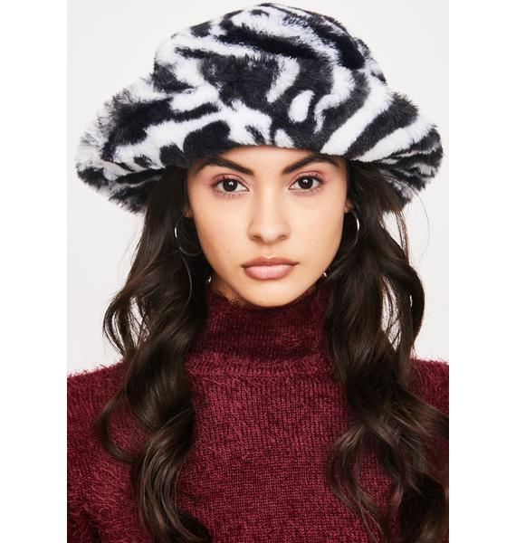 Juju Beats Furry Bucket Hat