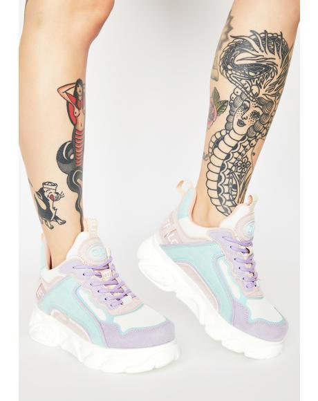 Pastel Multi Corin Platform Sneakers