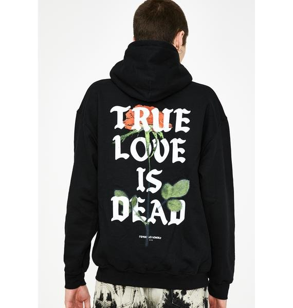 Learn To Forget  True Love Is Dead Hoodie