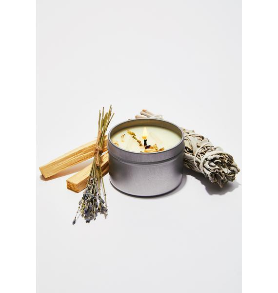 J. SOUTHERN STUDIO Honeysuckle & Jasmine Ritual Candle