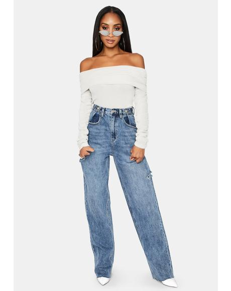 Celeste Off The Shoulder Bodysuit
