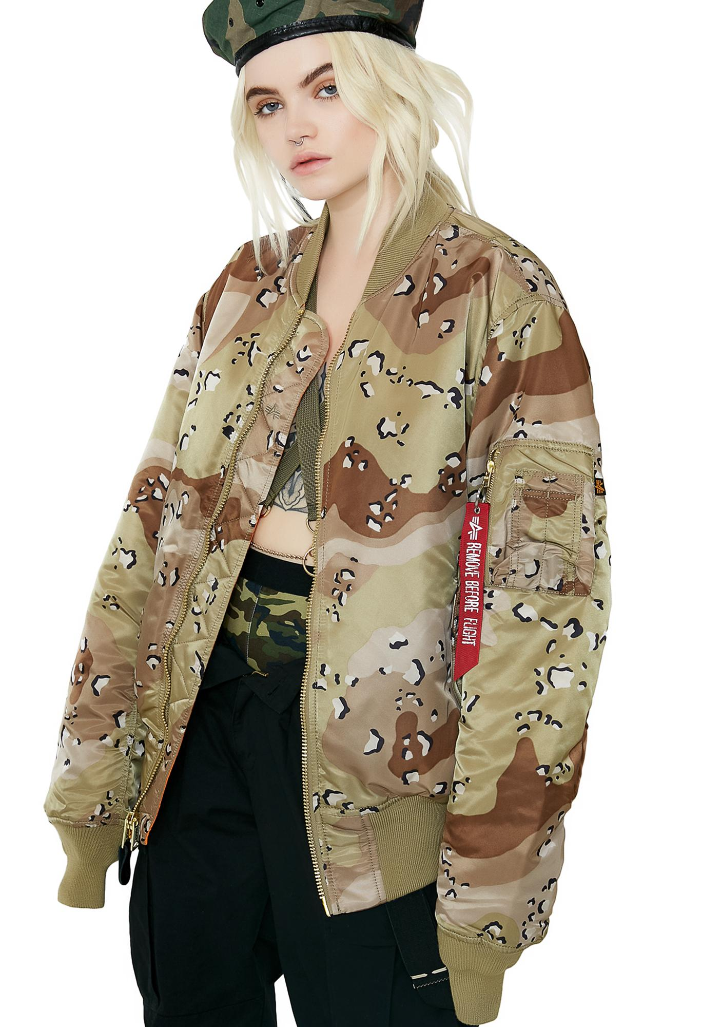 Alpha Industries MA-1 Blood Chit Bomber