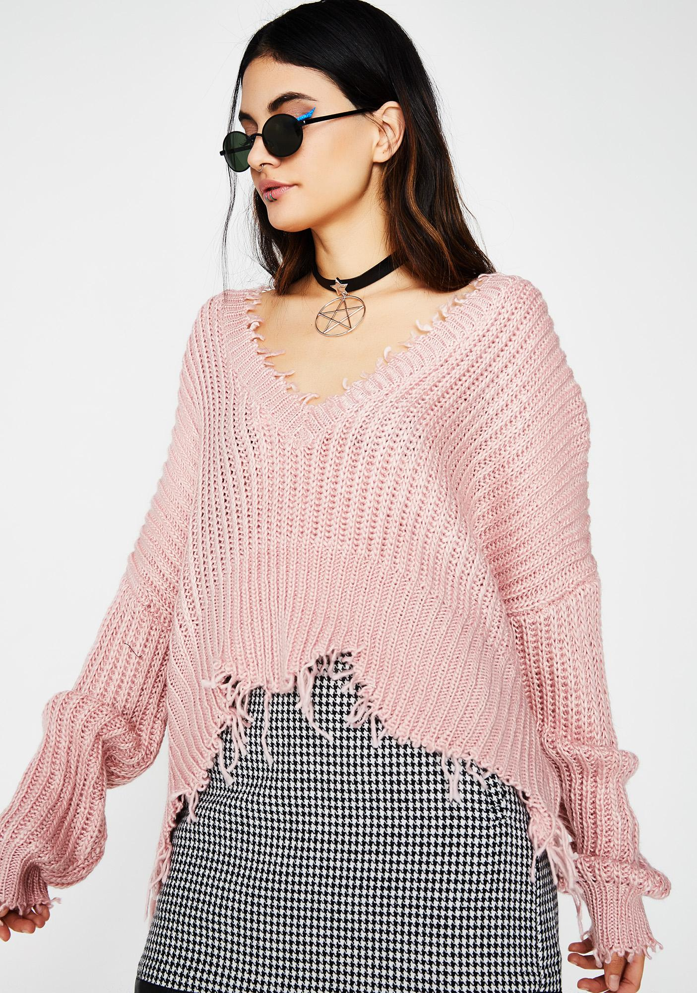 Break Into Pieces Sweater