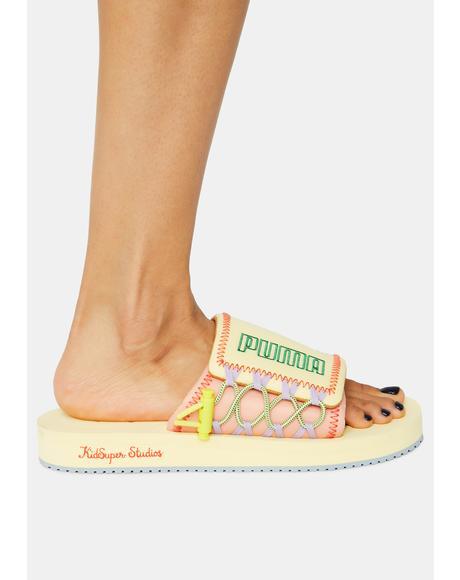 Kidsuper Studios X Wilo Slide Sandals
