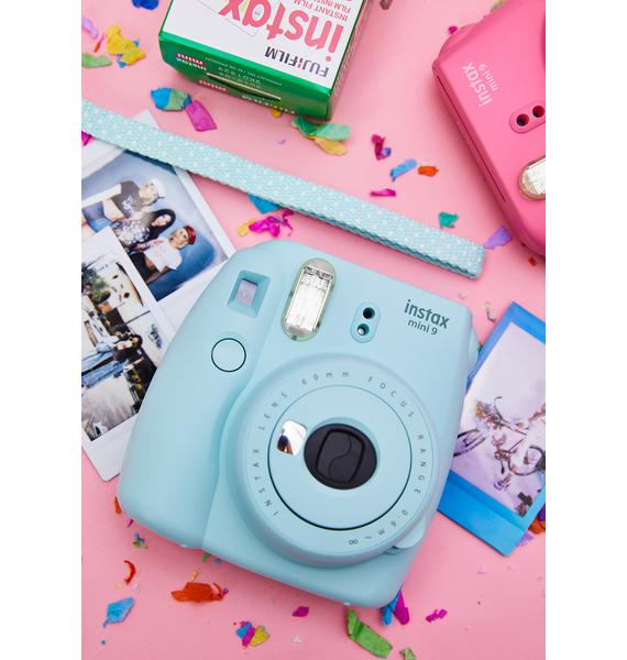 Fujifilm Ice Blue Mini 9 Camera