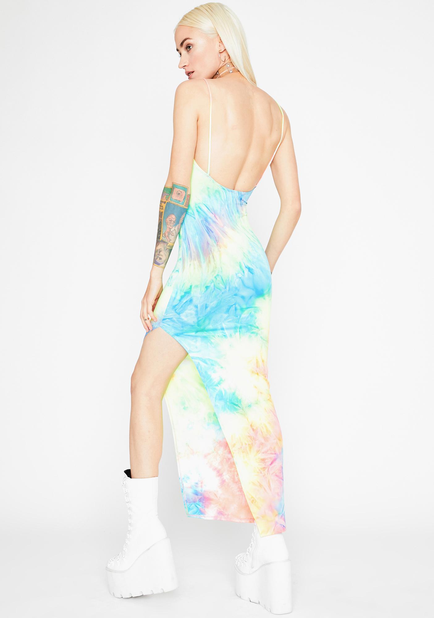 Starfire Swirl Maxi Dress