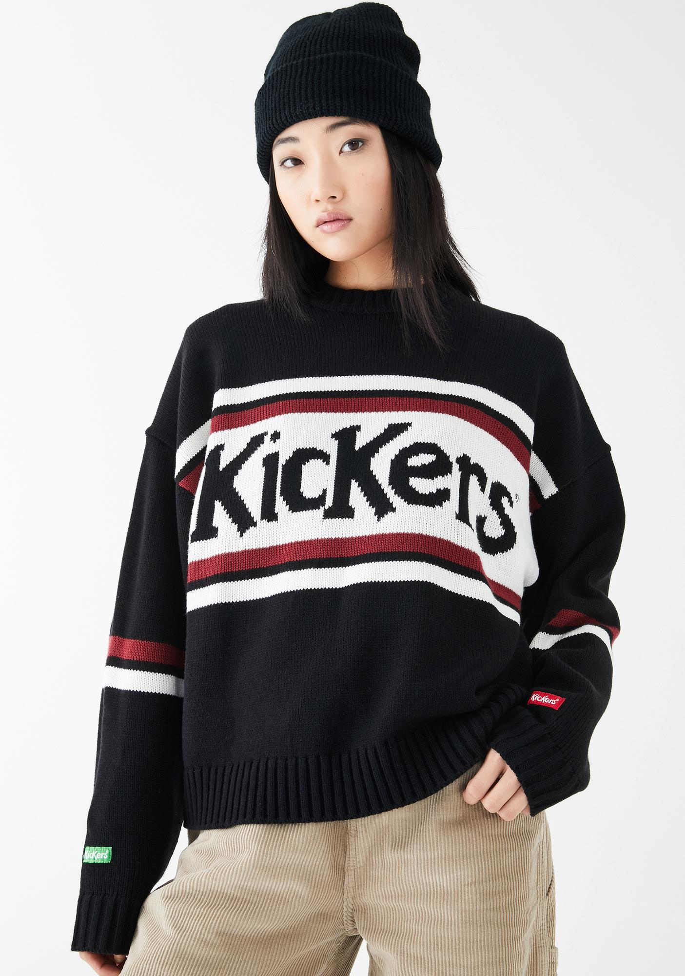 Kickers Logo Knitted Sweater