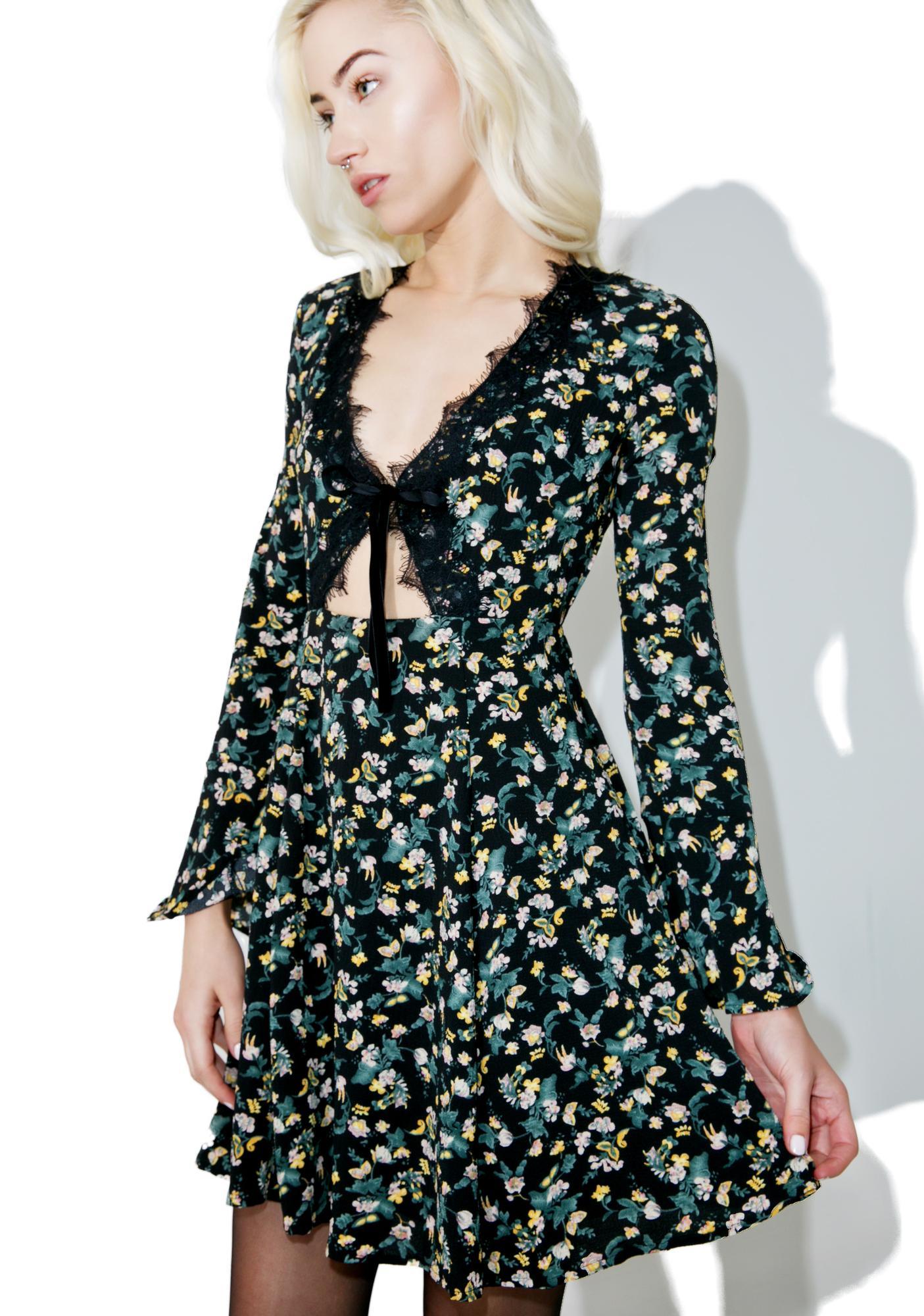 Glamorous Labyrinth Cutout Dress