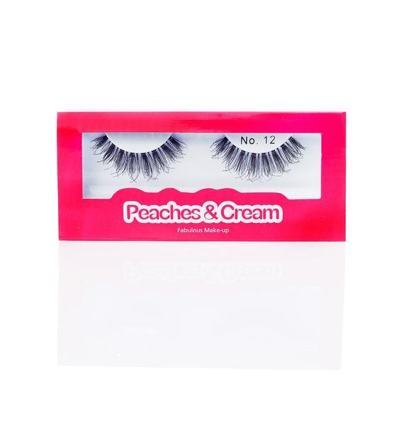 Peaches & Cream No. 12 False Lashes